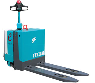 Electric Battery Pallet Stacker