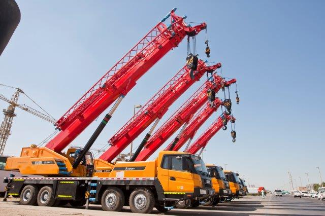 Sany Cranes Used in Construction